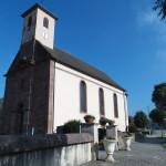 Eglise automne