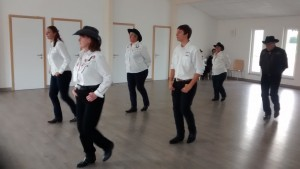 Première séance danse country