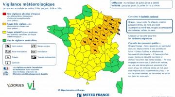 Vigilance météoroligue 20072016
