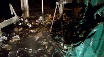 Incendie écopoint 01012017-2