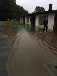 Inondations école maternelle