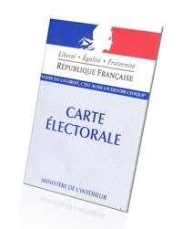Carte d'électeur 2019