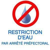 Restrictions d'eau par arrêté préfectoral