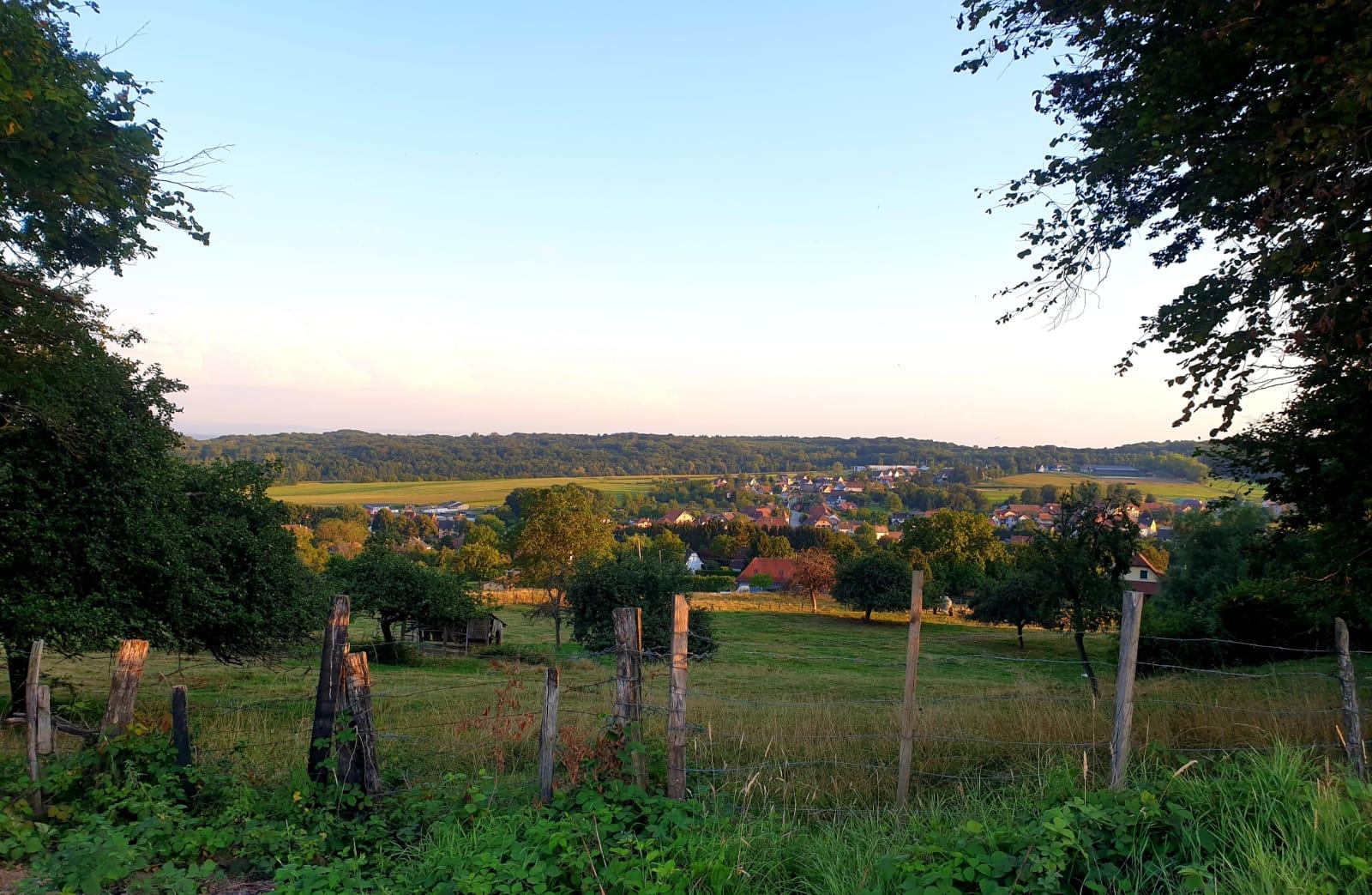 vue sur le village 1