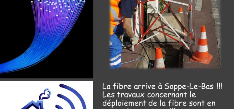 Arrivée fibre